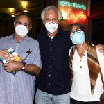 Paulo Gusmão, Sergio Margulis e e Paula Gusmão
