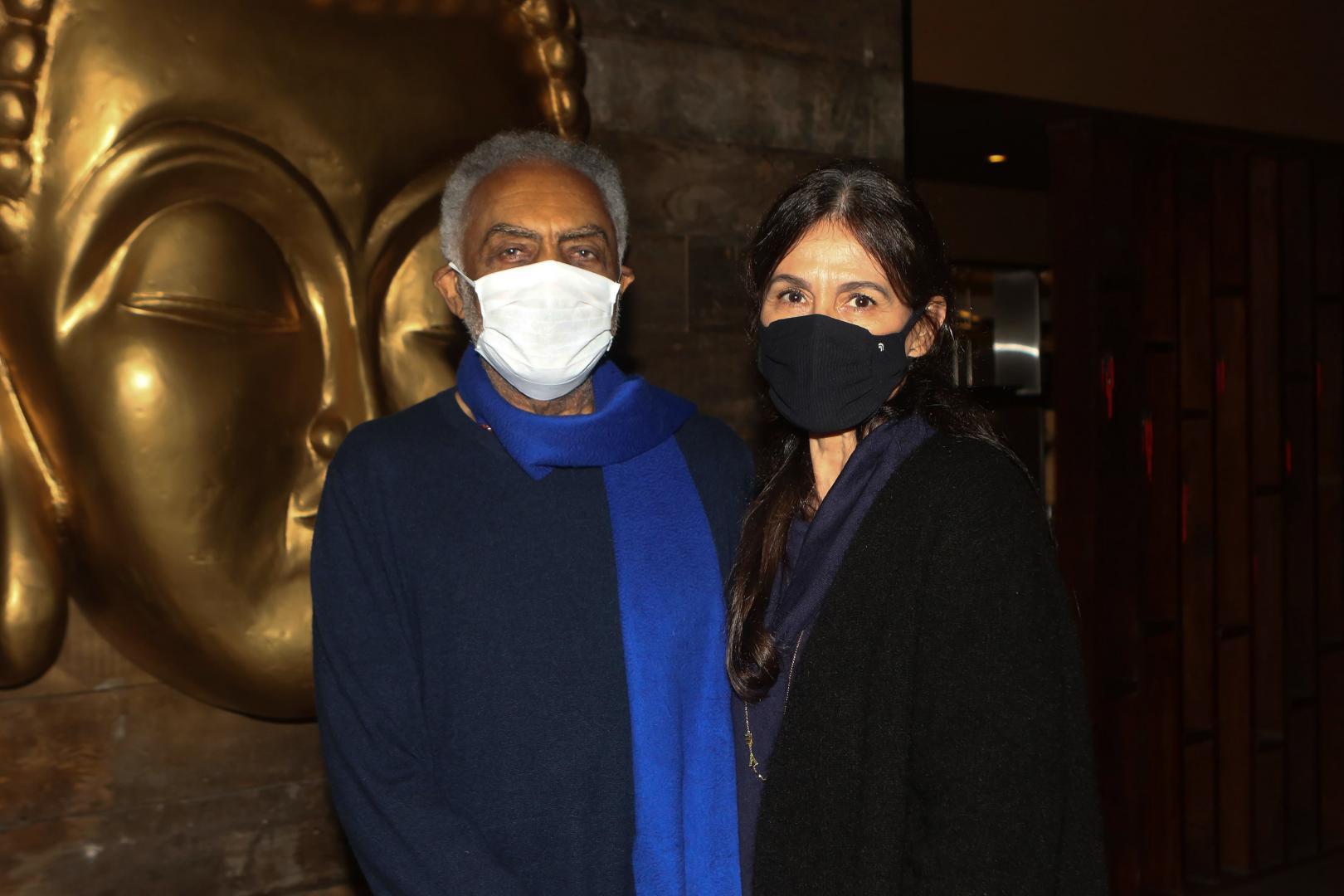 Gilberto Gil e Flora Gil ganham jantar no Mandarim
