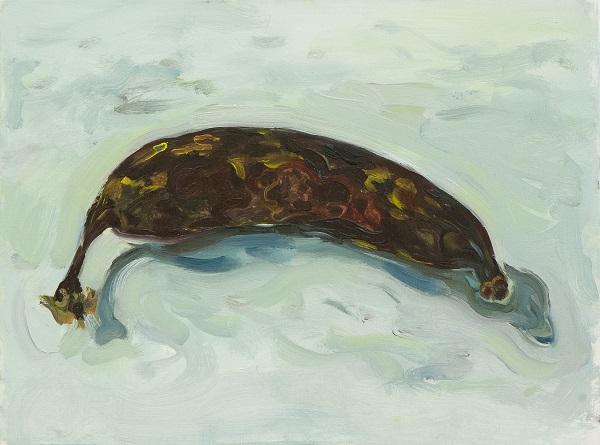 baleia, óleo sobre linho