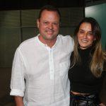 Marcelo Manfort e a esposa Andrea