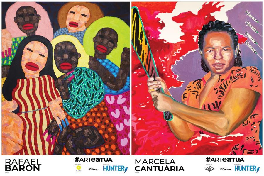 Obras de artistas brasileiros contemporâneos em espaços urbanos públicos do Rio de Janeiro