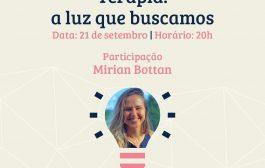 Bate-papo com a jornalista Mirian Bottan sobre transtornos alimentares