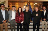 Beth e Carlos Alberto Serpa recebem autoridades e amigos na festa da Fundação Cesgranrio