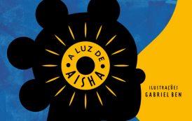 """Livro """"A luz de Aisha"""" está em exposição e em campanha de financiamento coletivo para publicação"""