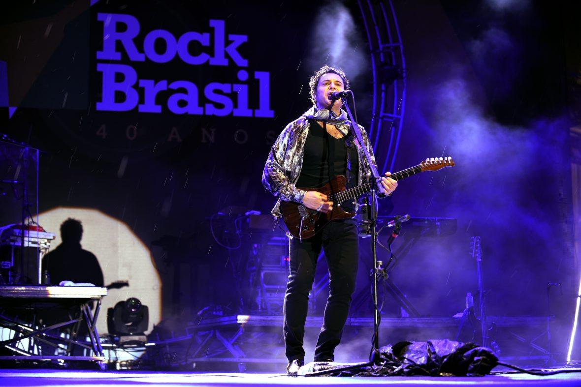 Terceiro dia do Rock Brasil 40 tem apresentações de Moska e Frejat