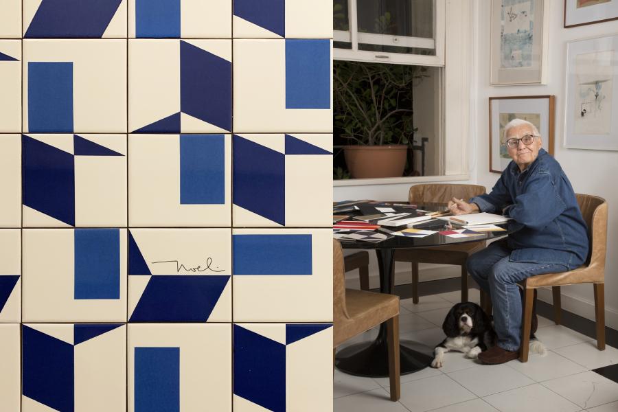 Marcia Barrozo do Amaral apresenta na SP-Arte primeira exposição do arquiteto e muralista Noel Marinho